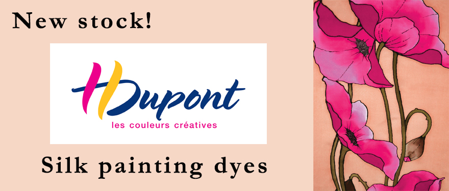 H Dupont silk painting dyes