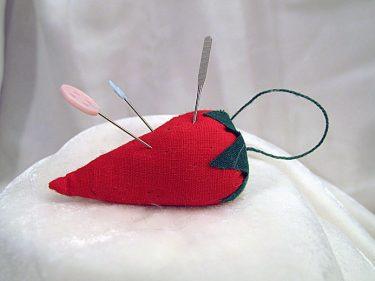 Strawberry Emery Bag