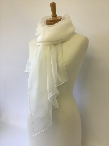 Silk Gauze Scarf