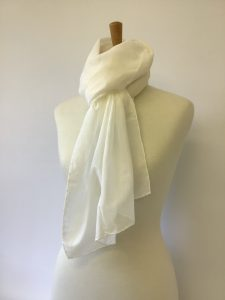 Silk Cotton Voile Scarf