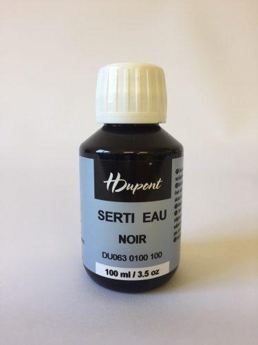 H Dupont Serti Gutta Black