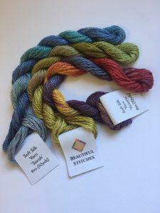 Beautiful Stitches silk thread