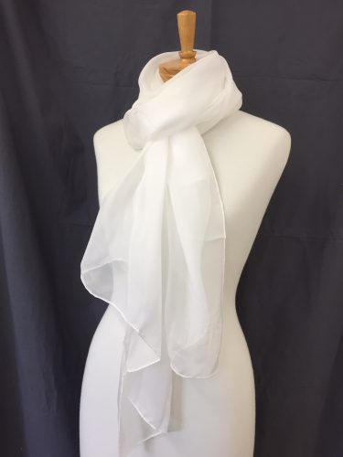 Silk Chiffon Scarf 180 x 70