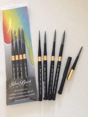 Black Velvet Voyage Travel Brushes