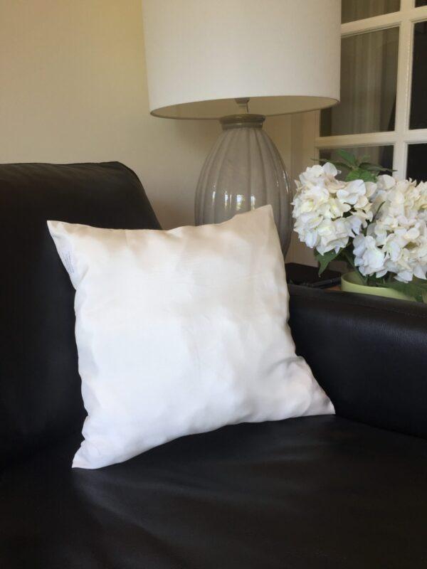 Habutai 40x40 cushion