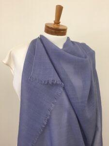 Wool gauze dyed