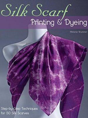 Silk Silk Scarf Printing and Dyeing